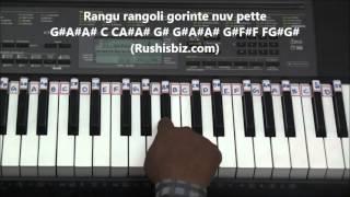 Download Hindi Video Songs - Preminche Premava Piano Tutorials (Rangu Rangoli Part) - Interlude