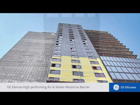 Elemax 2600 Air & Water Barrier Systems | GE Silicones