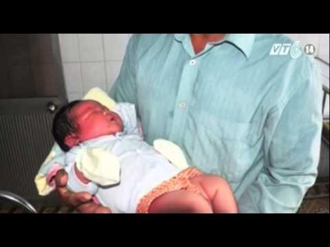 VTC14_Bé sơ sinh chào đời với cân nặng kỷ lục