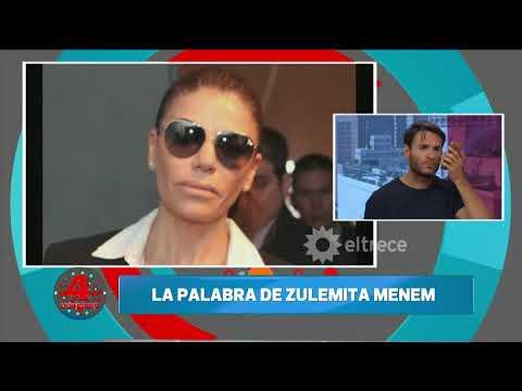 Zulemita Menem habló de la operación de su hermano Máximo