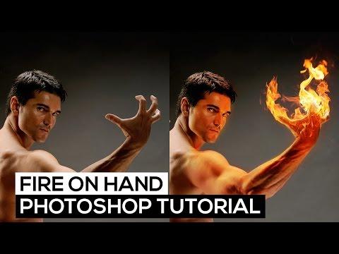 Fire Hand Effect (Ateş Efekti) - Photoshop Tutorial