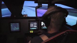 STS-135 Flight Crew Trains on VMS at NASA Ames