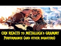 CKN Reacts to METALLICA's Performance At the Grammy Awards (And Other Disasters)