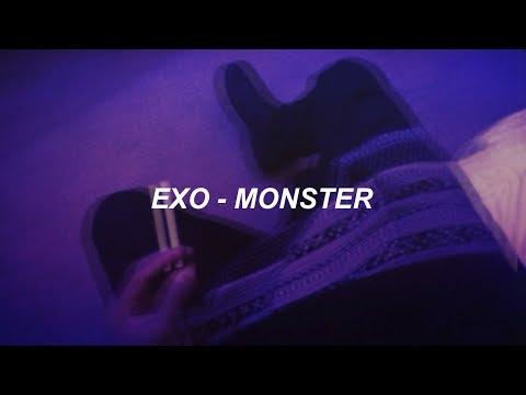 EXO 엑소 'Monster' Easy Lyrics