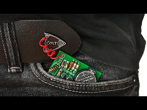 Как сделать шпионский мини радио жучок !!!