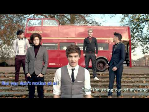 One Direction - One Thing (Karaoke version with no music video)