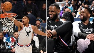 Top 10 All-Star plays include a Wade to LeBron lob & a crazy Giannis alley-oop | NBA All-Star 2019