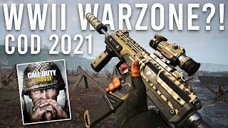 Warzone World War 2 in COD 2021...