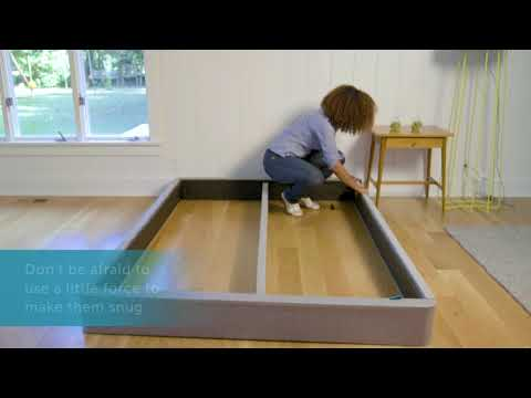 How To Assemble The Leesa Mattress Foundation