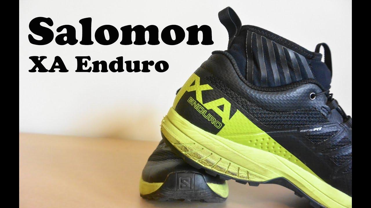 Salomon XA Enduro Review - YouTube