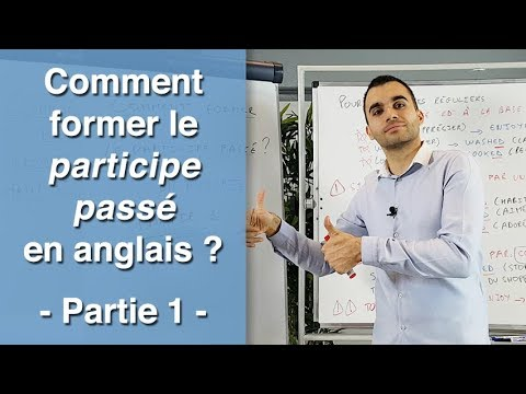 comment former le participe pass en anglais partie 1 youtube. Black Bedroom Furniture Sets. Home Design Ideas