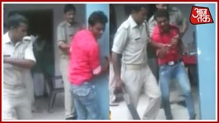 Bijnor Police Beat Up Man In Full Public View