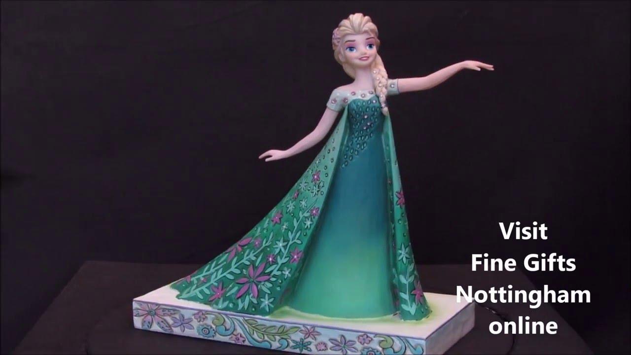 Disney Traditions Celebration of Spring Elsa Figure