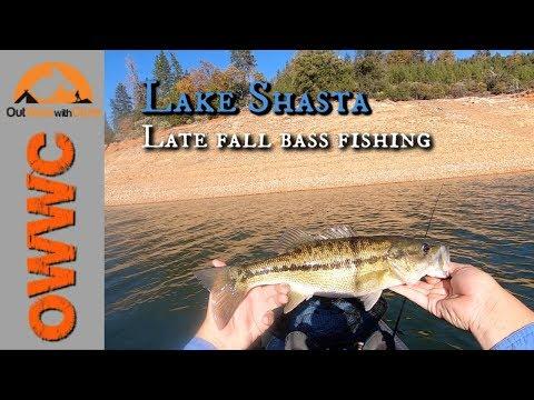Late Fall Bass Fishing On Lake Shasta