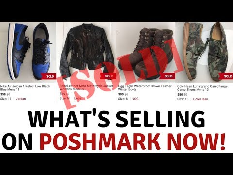 33a1eca32da What's Selling On PoshMark Right Now | Selling Mens Clothing | Poshmark  Sales February 2019 - YouTube