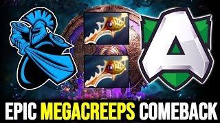 ALLIANCE vs NEWBEE - Divine Rapier Gaming WTF EPIC Megacreeps Comeback #TI9 THE INTERNATIONAL 2019