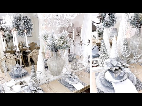 DECORATE WITH ME FOR CHRISTMAS 2019! Christmas Decor Dining Room Tour   LGQUEEN Home Decor