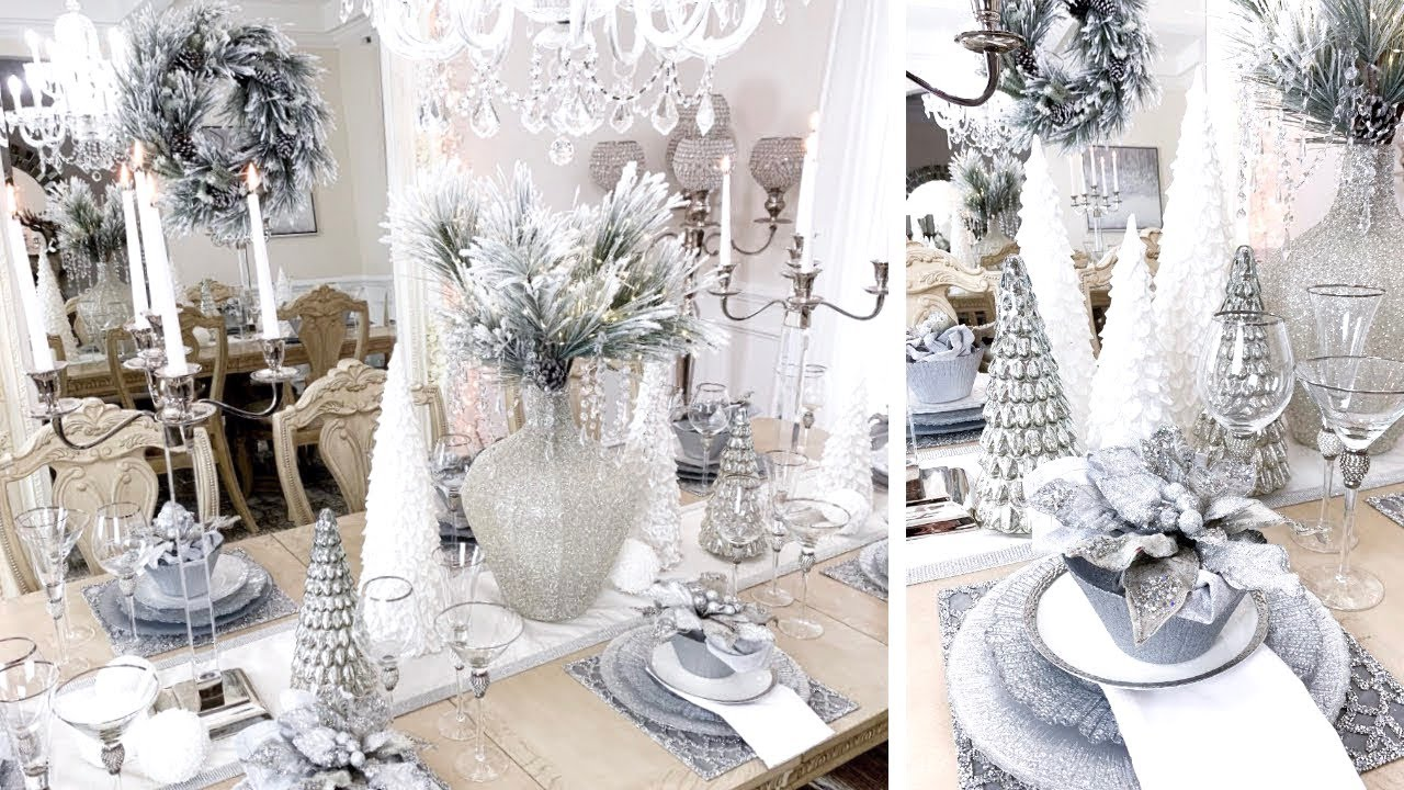 Decorate With Me For Christmas 2019 Christmas Dining Room Tour Lgqueen Home Decor