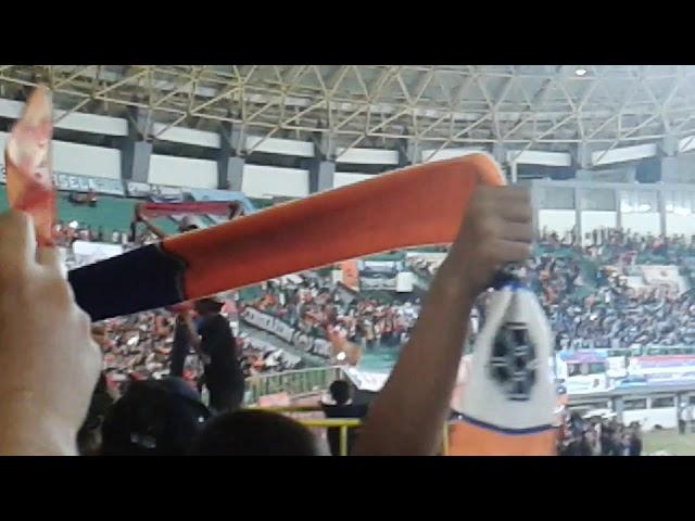 Keren woyy!!! Fulll koreo 3D curva the jakmania|persija vs persela