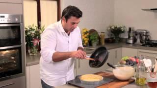Caramelised Onion, Pesto And Goats Cheese Tart Recipe