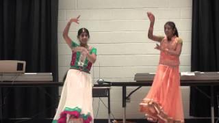 Lavanya and Sudarshana Dance