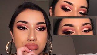 valentine's day makeup look (modern renaissance)