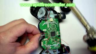 How to install a rapid fire mod kit in a ps3 controller