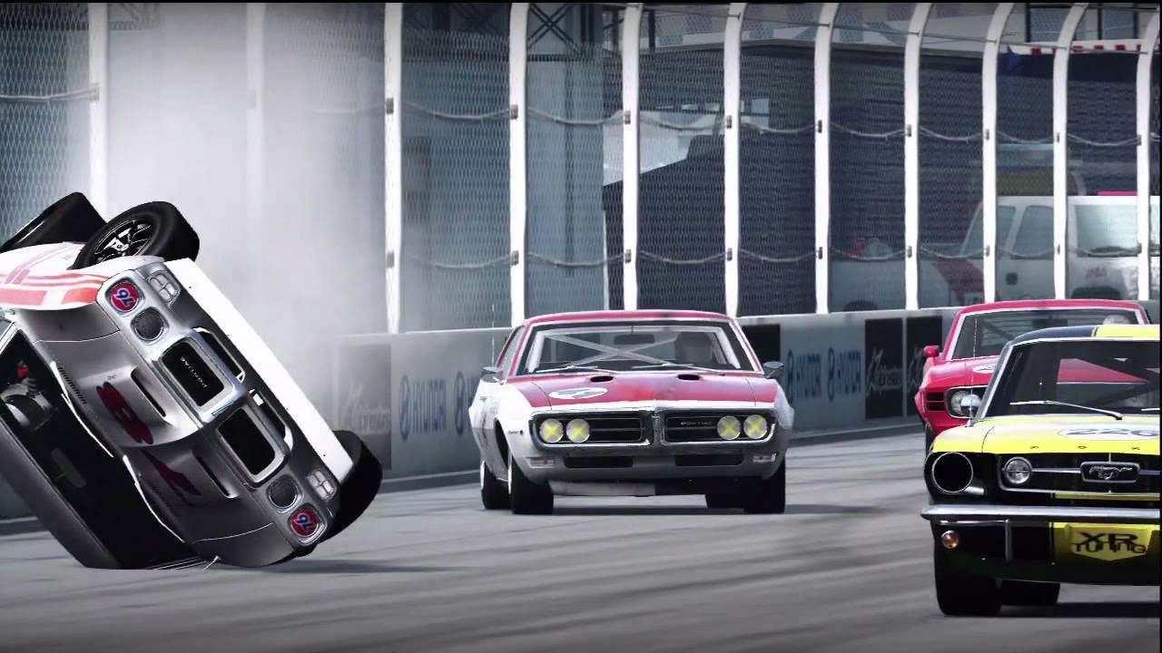 SRN Historic Trans Am Race5 Sunset Infield 2012 Season1 - YouTube