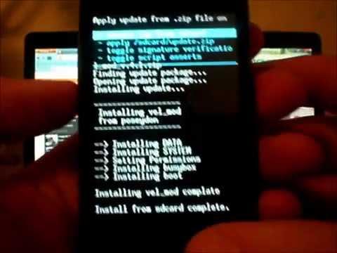 Как перепрошить Huawei U8650 Sonic