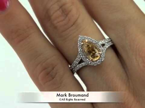 oval light blog rare engagement broumand rings mark yellow diamond brown brownish cut ring fancy