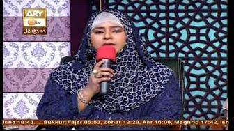mangto ko sultan banaya mere KAMLI wale ne by shumaila nasir in Seerat e Nizam Uddin Aulia on aryqtv