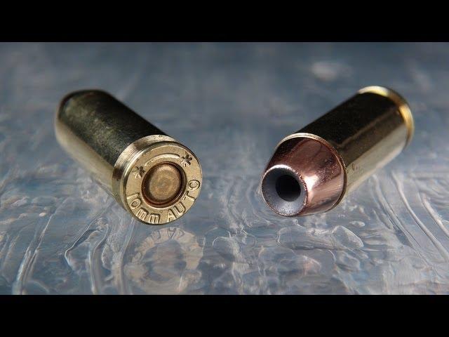 Underwood 10mm 135 gr Nosler Clear Gel Test - YouTube
