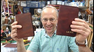 Making Notebook Covers with Sedgwick Leather - Sponsored