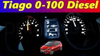 Tata Tiago 1.05 L Revotorq 0-100 Acceleration test | Speed test | Diesel | Redline | DriveIndia