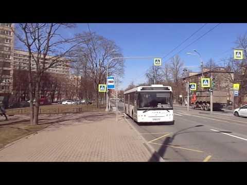 Автобус Санкт-Петербурга 9-264: ЛиАЗ-5292.60 б.2243 по №40 (17.04.19)