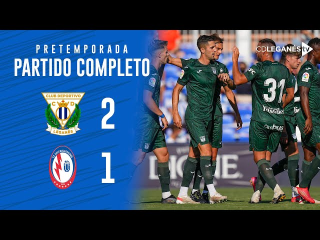 C.D. Leganés vs C.F. Rayo Majadahonda (2-1)