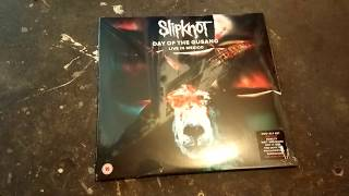 Unboxing Slipknot Day of the Gusano Vinyl+DVD Edition