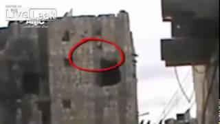 Война в Сирии  Снайпер в засаде  Жесть!
