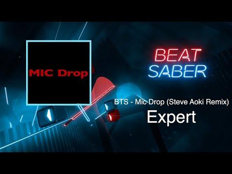 [BEAT SABER] Mic Drop - BTS (Expert) Custom Map