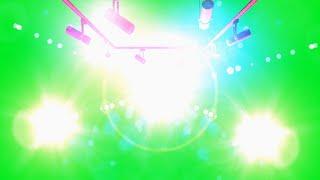 Iluminação de Palco #1 - Stage Lights #1 / Green Screen - Chroma Key