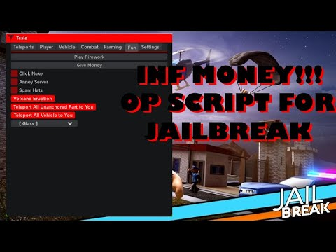 Roblox Hack Script   Tesla Hub Best Jailbreak GUI Ever   Jailbreak Hack   Click Nuke