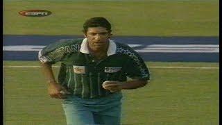 Wasim Akram 3/34 vs Sri Lanka, 1999 | Jamshedpur | Pepsi Cup | Closing Moments