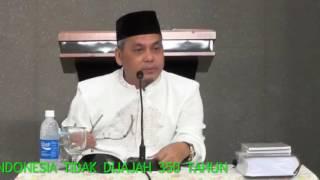 Benarkah Indonesia Dijajah 350 Tahun ? - Ustadz Munzir Situmorang Mp3