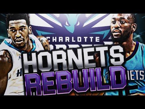 REBUILDING THE CHARLOTTE HORNETS! NBA 2K18 MY LEAGUE