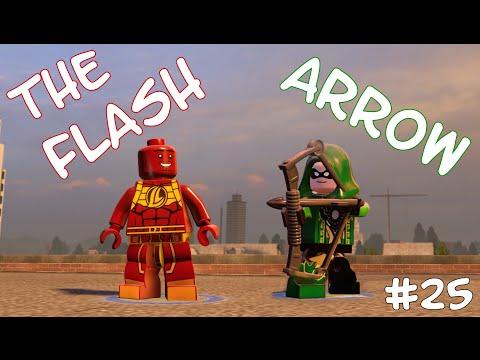 THE FLASH! VS ARROW! - LEGO Marvel's Avengers Free Roam - Part 25(Türkçe Gameplay) HD
