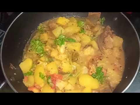 ଅମୃତା ଭଣ୍ଡା ସନ୍ତୁଳl/Raw papaya curry/Traditional odia curry