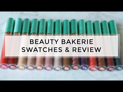 15 Shades Of Beauty Bakerie Lip Whip Swatches & Full Review // Melissa Gold