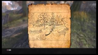 ESO Cyrodiil Treasure Map XVI