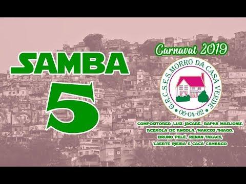 Download 🔴 Morro da Casa Verde 2019 - Samba Concorrente #Samba5 (Luiz Jacare, Acerola de Angola e Cia.)