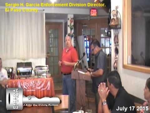 Sergio H  Garcia Enforcement Division Director
